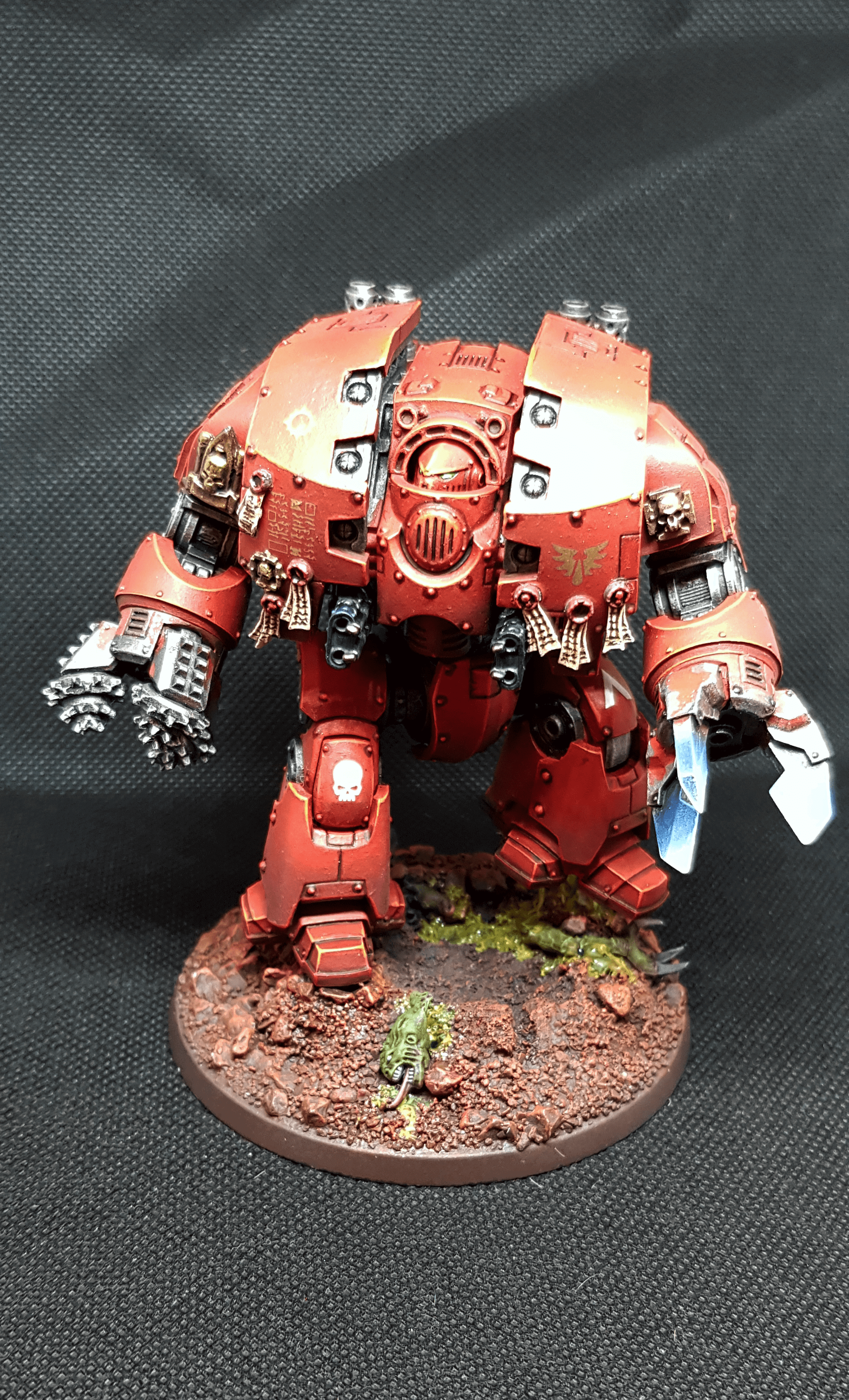 Venerable Brother Marcellus, the Red Wrath